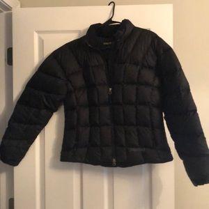 ⭐️Very gently used black Marmot puffer jacket/coat